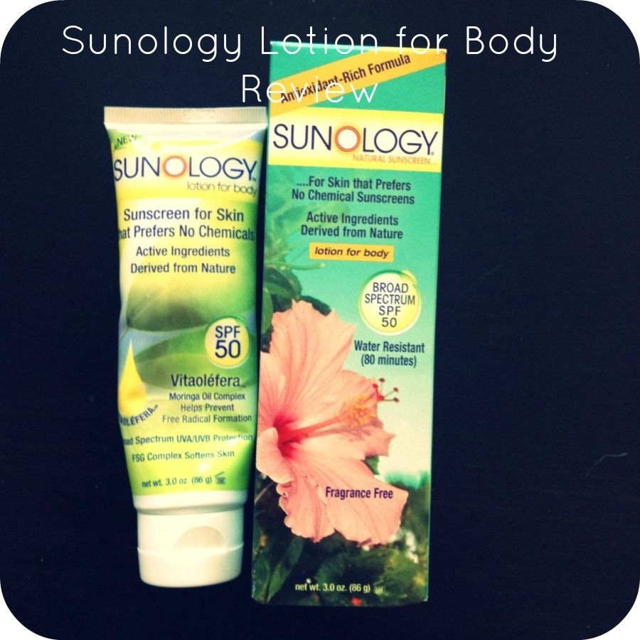 Sunology Lotion for Body Review Lotion, Active