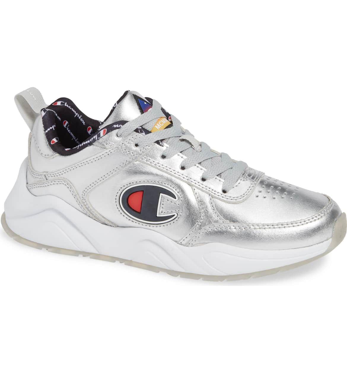 482bee01b 93 Eighteen Metallic Sneaker
