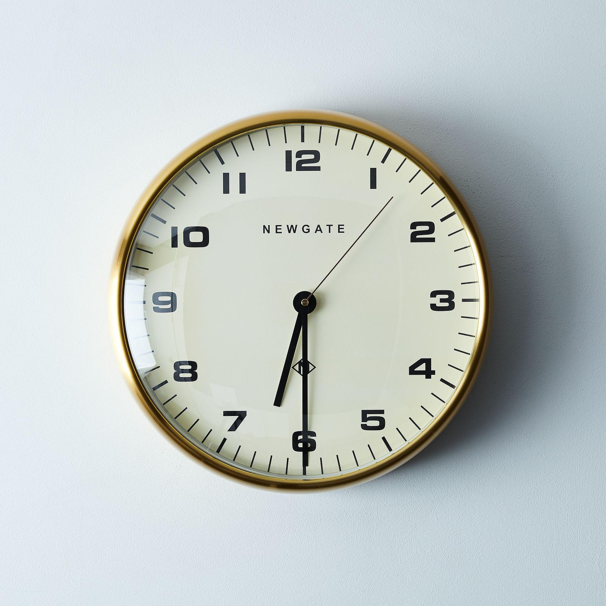 Chrysler Brass Wall Clock Wall Clock Clock Brass Wall
