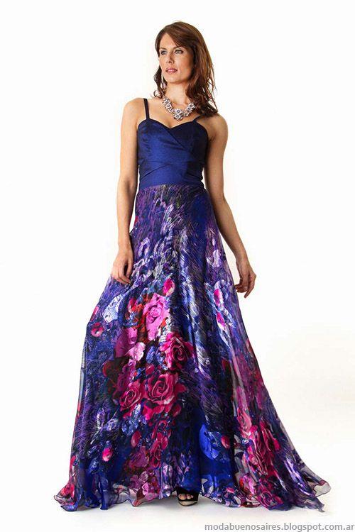 Moda primavera 2015 vestidos largos