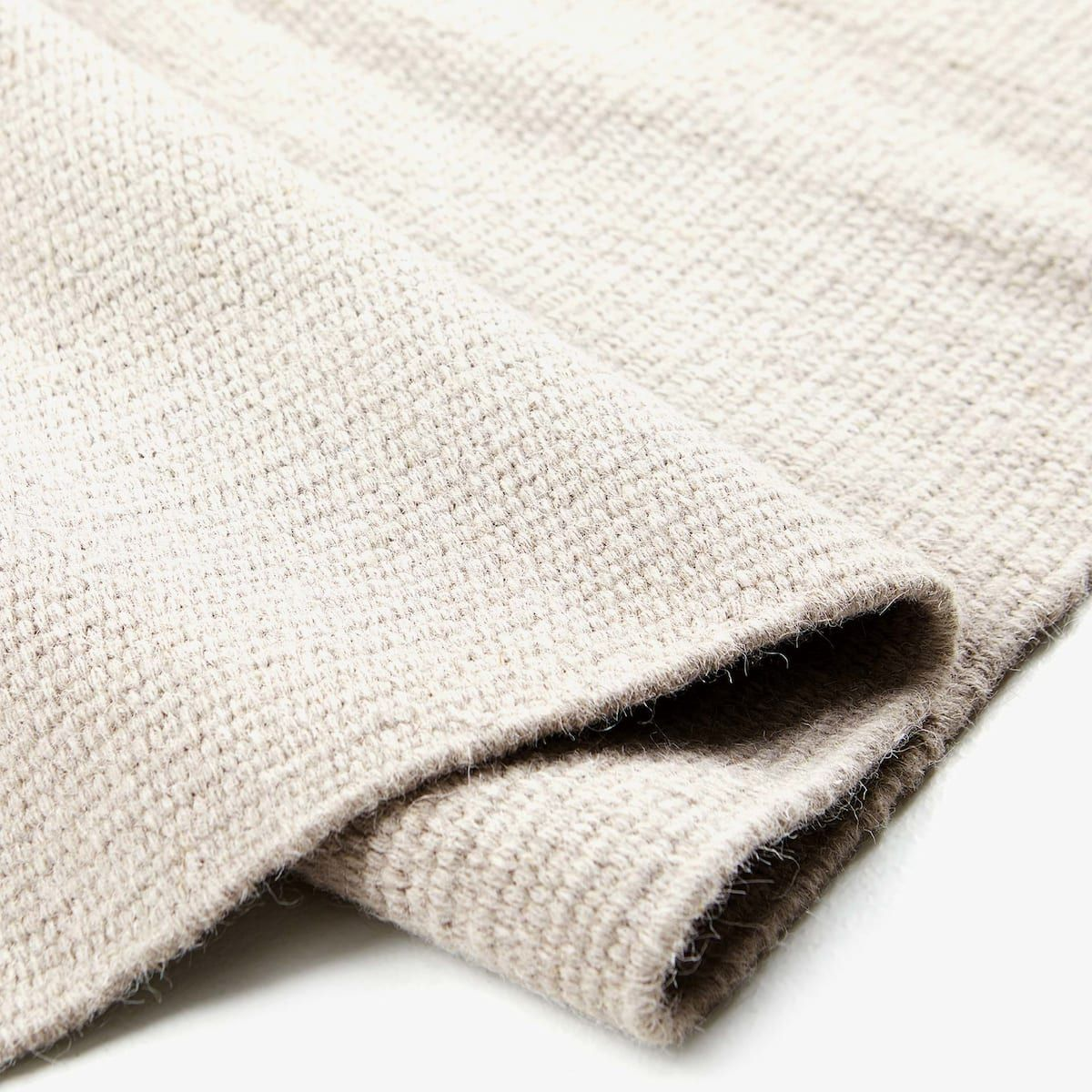 Image 2 of the product WOVEN RUG WITH FRINGE Woven rug