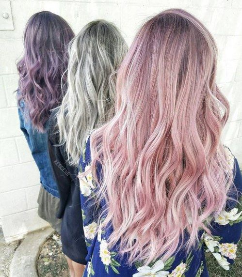 Astro Hairstyle Diese Frisur Passt Zu Deinem Sternzeichen Pastel Haare Bunte Haare Haarfarben