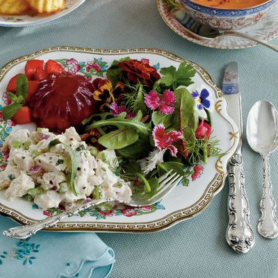 The New Ladies Lunch Chicken Salad Recipe Southern Luncheon Recipes Luncheon Menu
