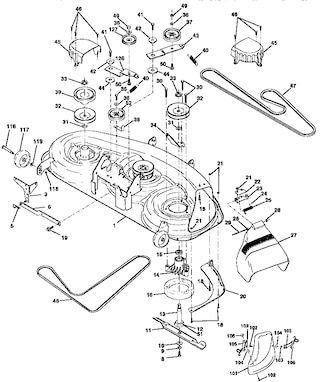 Craftsman Tractor Parts Model 917258870 Sears Partsdirect