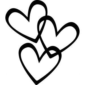 Silhouette Design Store: hearts