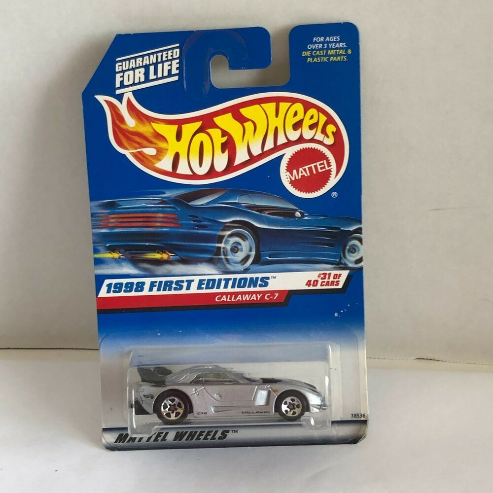 Hot Wheels 1998 First Editions Callaway C7 Silver Tone Toy Car 74299098901 Ebay Hot Wheels Mattel Hot Wheels Mattel