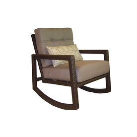 allen roth lawley patio chair at lowesthe most comfortable patio chair i have ever sat in want - Patio Rocking Chairs