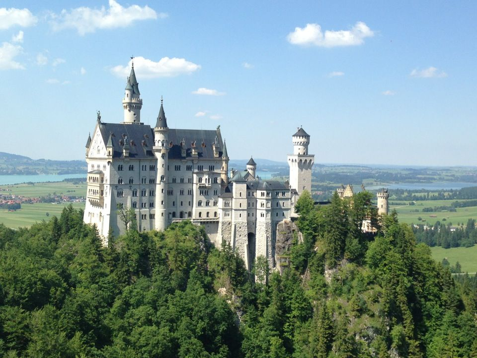 Schloss Neuschwanstein Germany Apparently This Is The