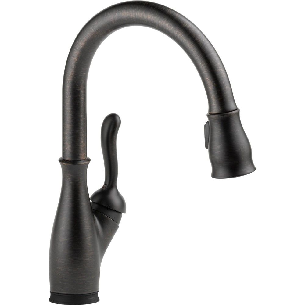 Delta Faucet 9178T Leland Pull-Down Kitchen Faucet with On ...
