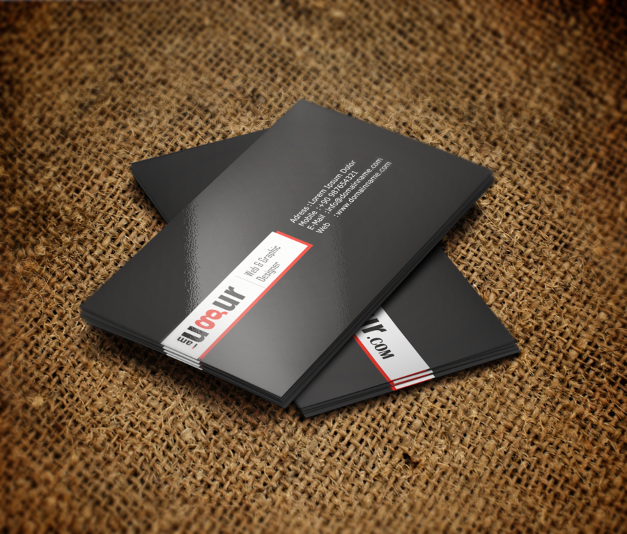 Black White Red Business Card By Mottcalem On Deviantart Branding