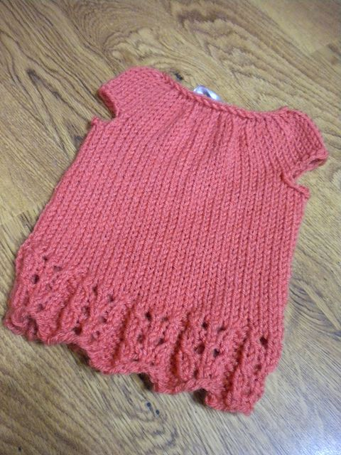 Ravelry: Longevity Shirt/Dress pattern by Nina Flippance