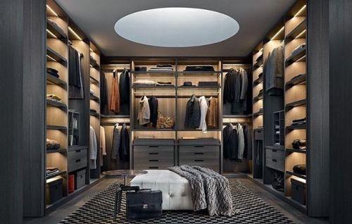 Pedini Dressings Slaapkamers : Closet #goals via @lux men fashion . . . #designmeetsperfection