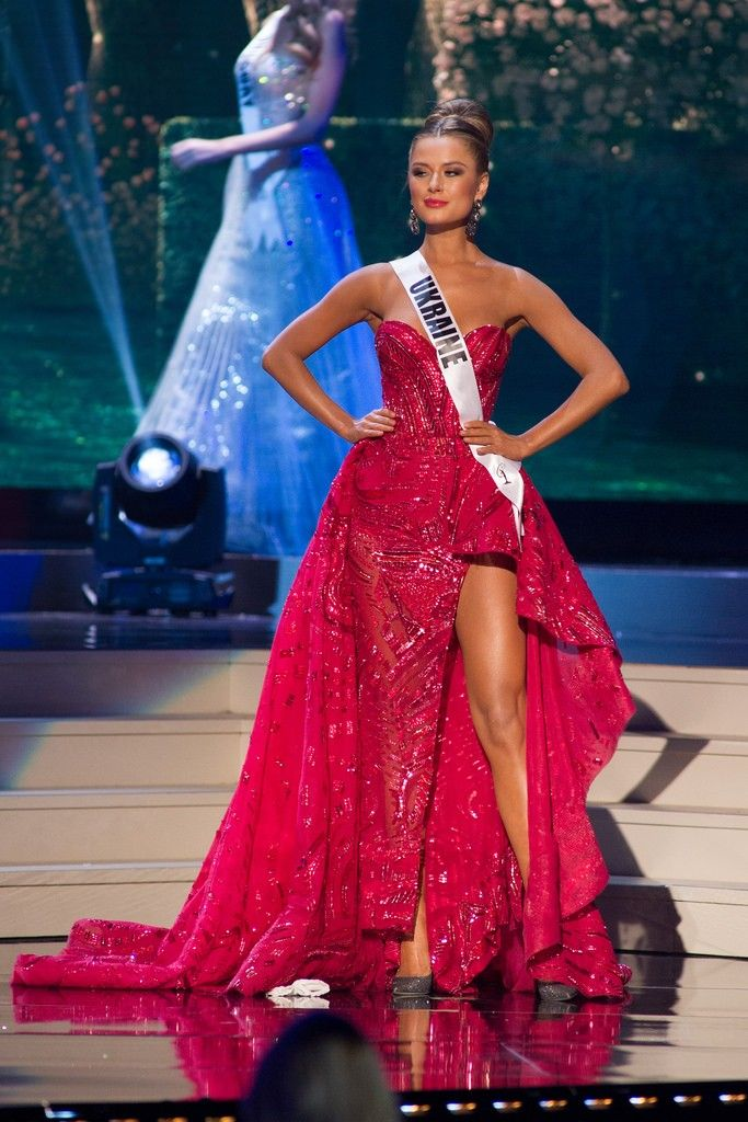 Miss Ukraine 2014 Diana Harkusha Evening Gown: HIT or MISS?