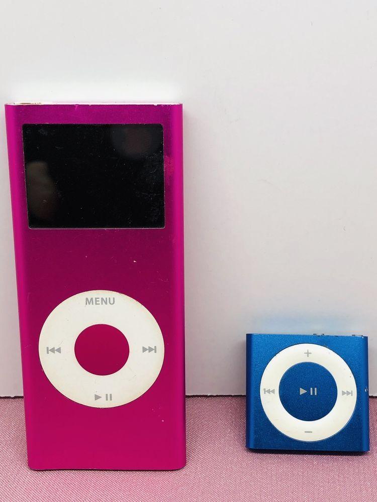 Apple iPod Nano 2nd Generation 4 GB Model A1199 Hot Pink