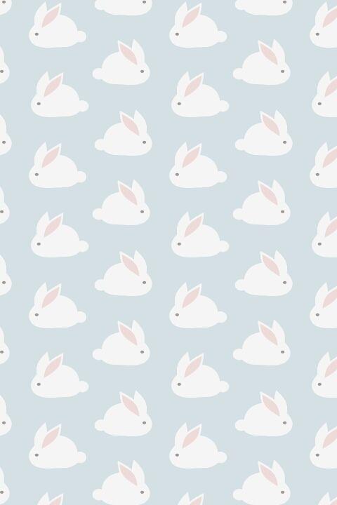 So Cute Via Tumblr Bunny Wallpaper Easter Wallpaper Pattern Wallpaper