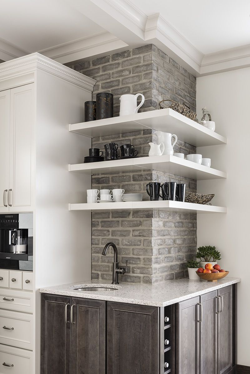 A touch of Ashland TundraBrick in the kitchen. http://bit.ly/1BjljjQ