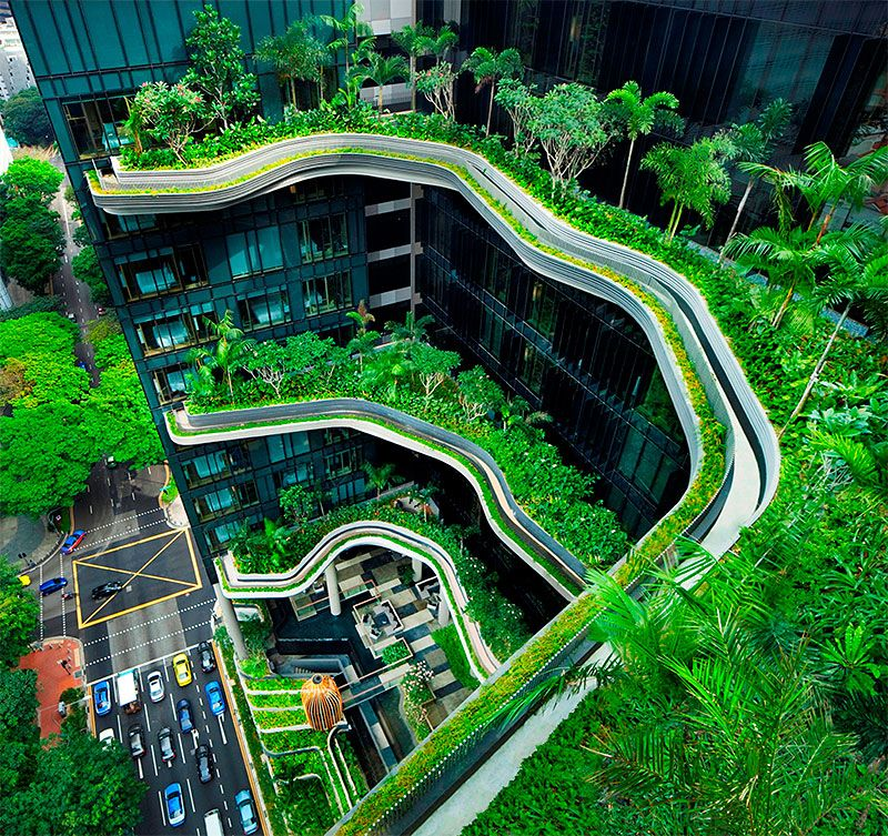 for Green building articles