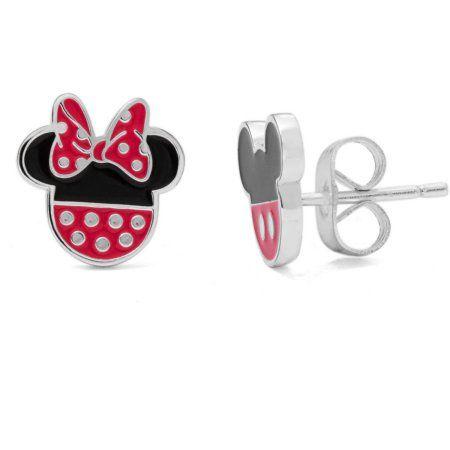 e812c676f italy pandora minnie mouse bow earrings walmart 17f34 8e667