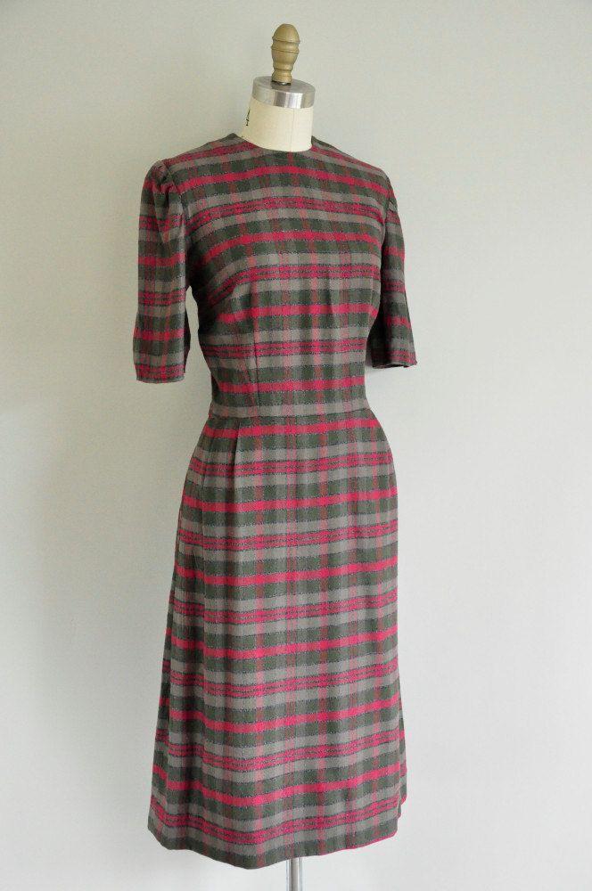 Vintage Flannel Dresses