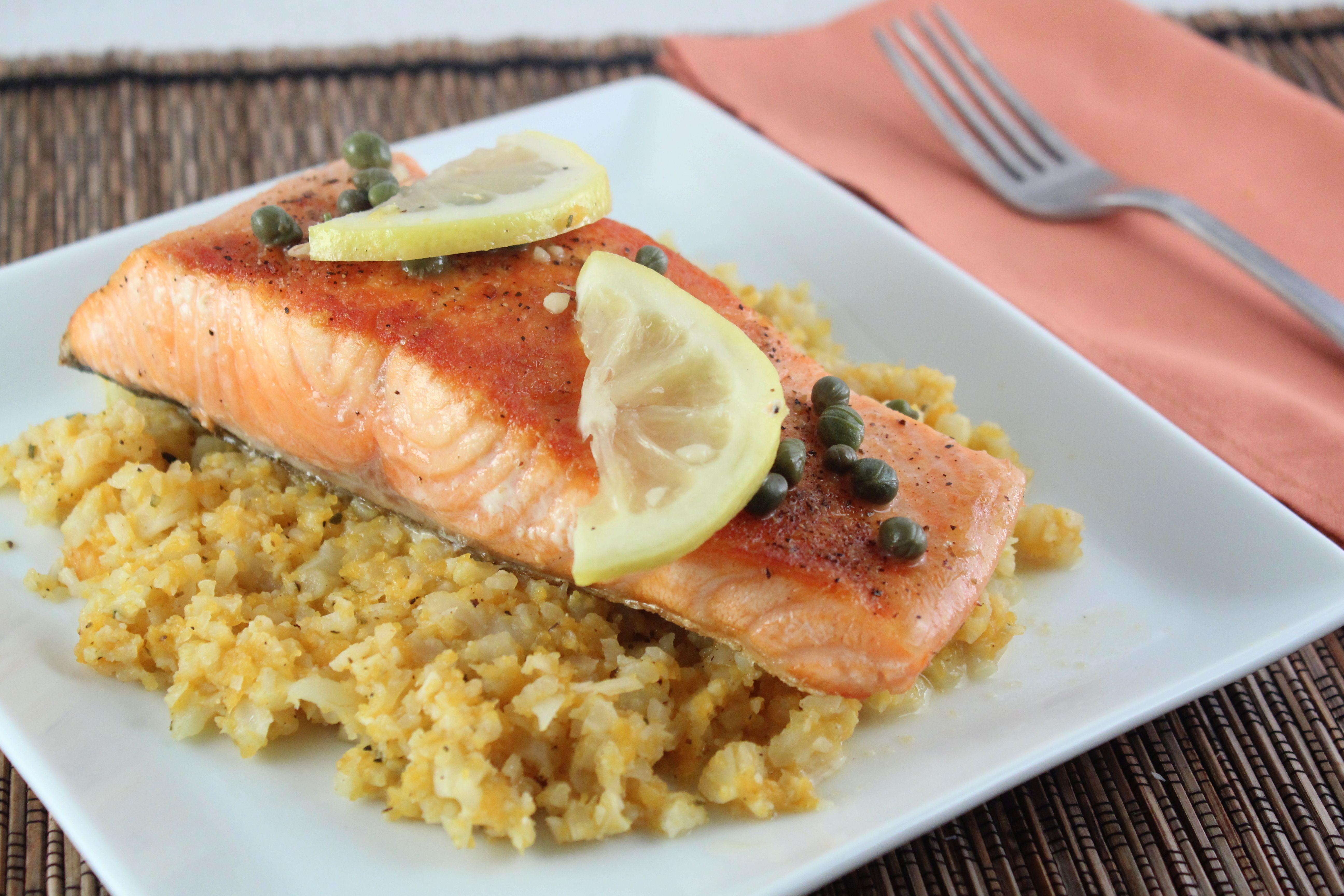 Salmon Picatta