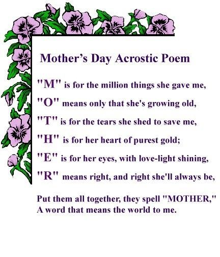 Mother's Day Poem Mother's Day Poems Mothers Day Poems Mothers Stunning Valentines Day Quotes For Mother