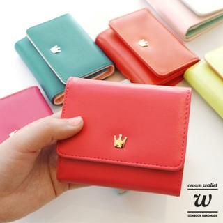 Buy 'iswas – 'Crown' Series Wallet W' with Free International Shipping at YesStyle.com. Browse and shop for thousands of Asian fashion items from South Korea and more!
