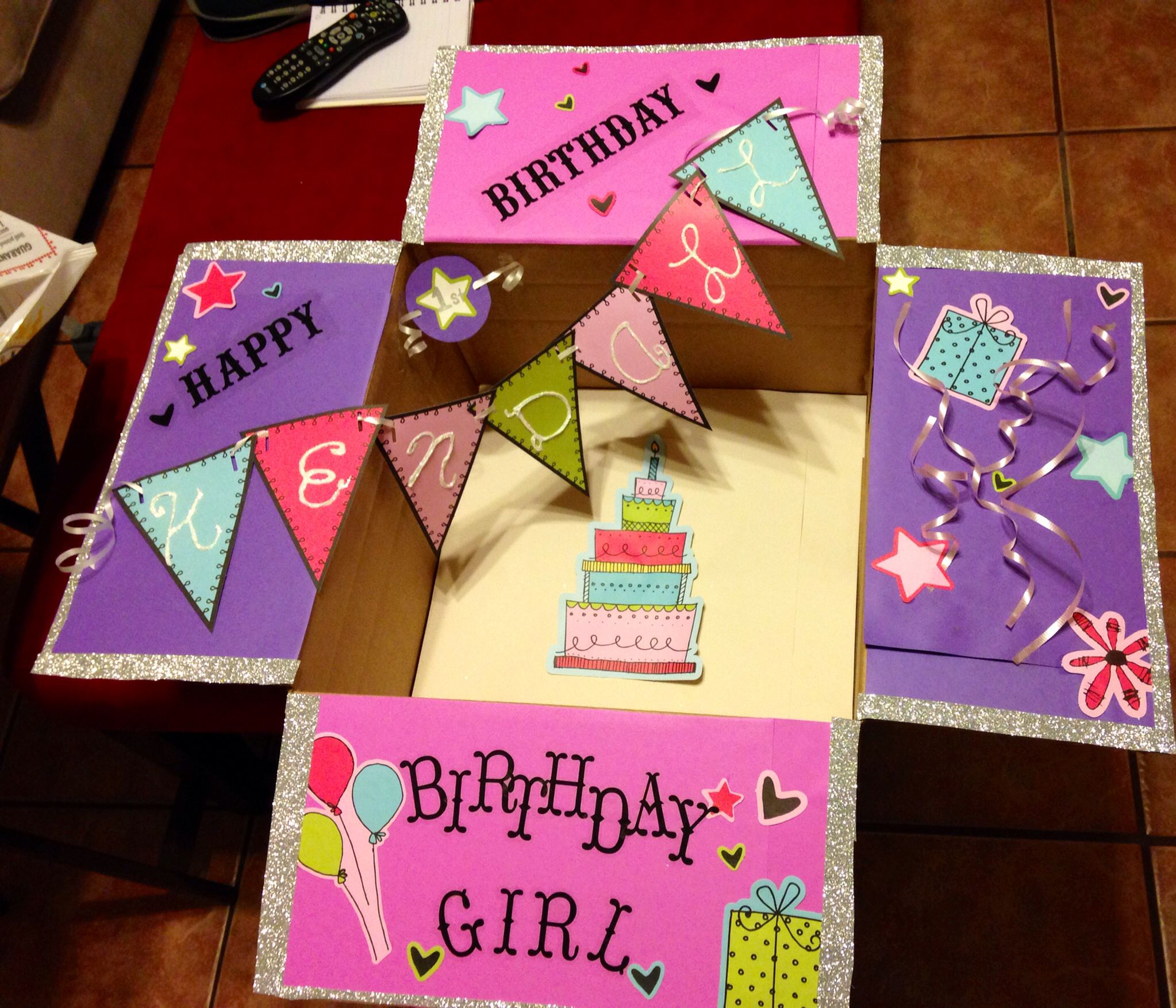 Birthday boxes perfect for sending your love when you