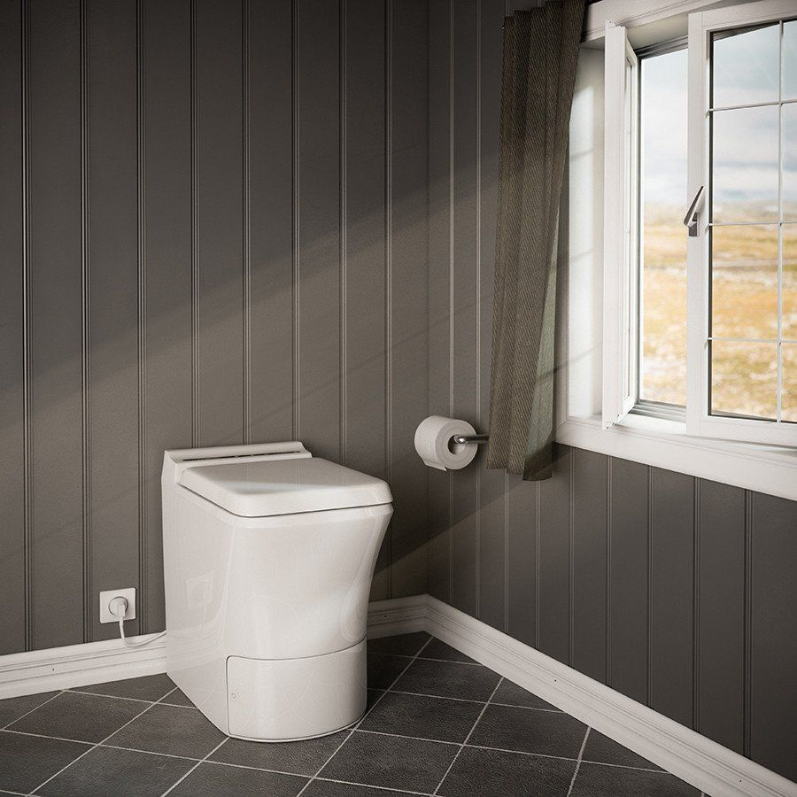 Cinderella USA\'s newest electric toilet, the Comfort includes a ...