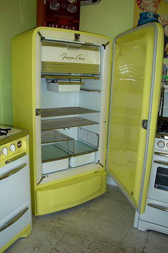 Vintage Philco Refrigerator
