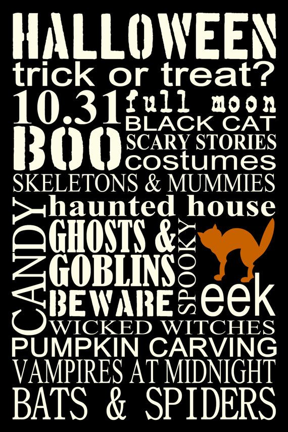Halloween Subway Poster Printables Pinterest Holidays - halloween poster ideas