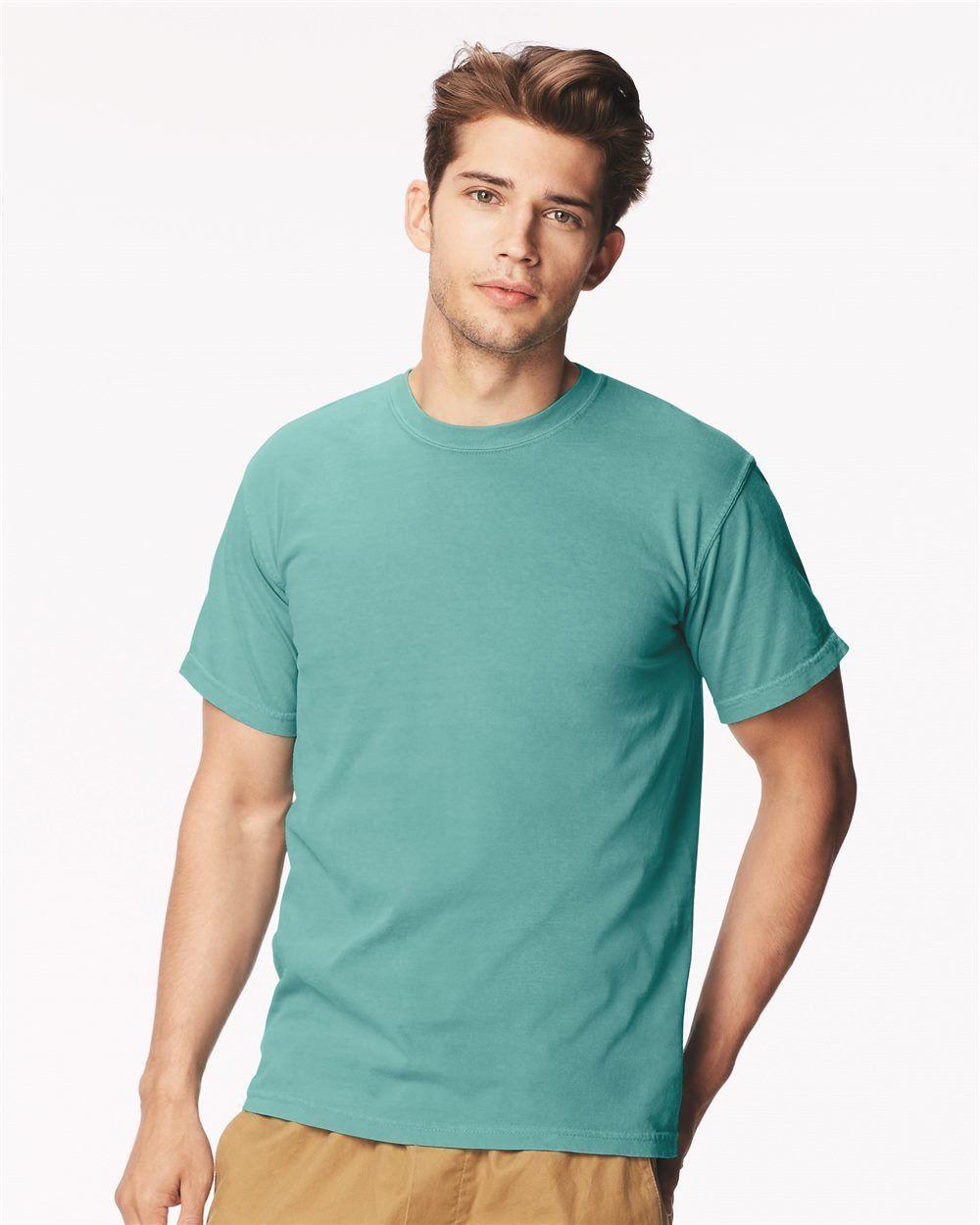ba75a6cd Comfort Colors - Garment Dyed Heavyweight Ringspun Short Sleeve Shirt - 1717