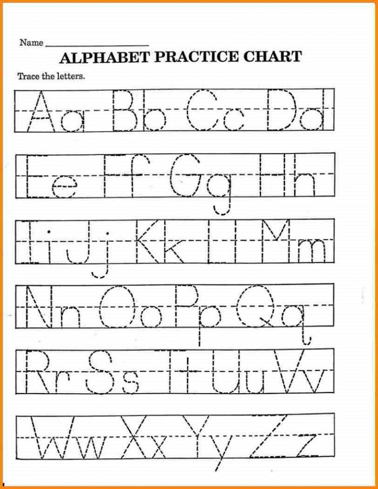 Pre K Math Worksheets Alphabet | Learning Printable | list | Pinterest