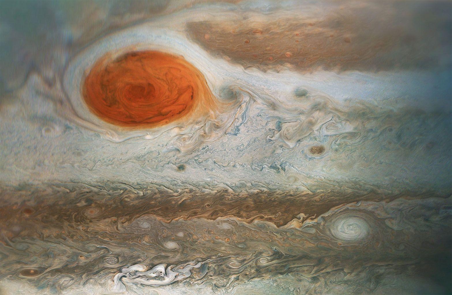 Great Red Spot storm heating Jupiter's atmosphere, says study |Solar System Jupiter Red Spot