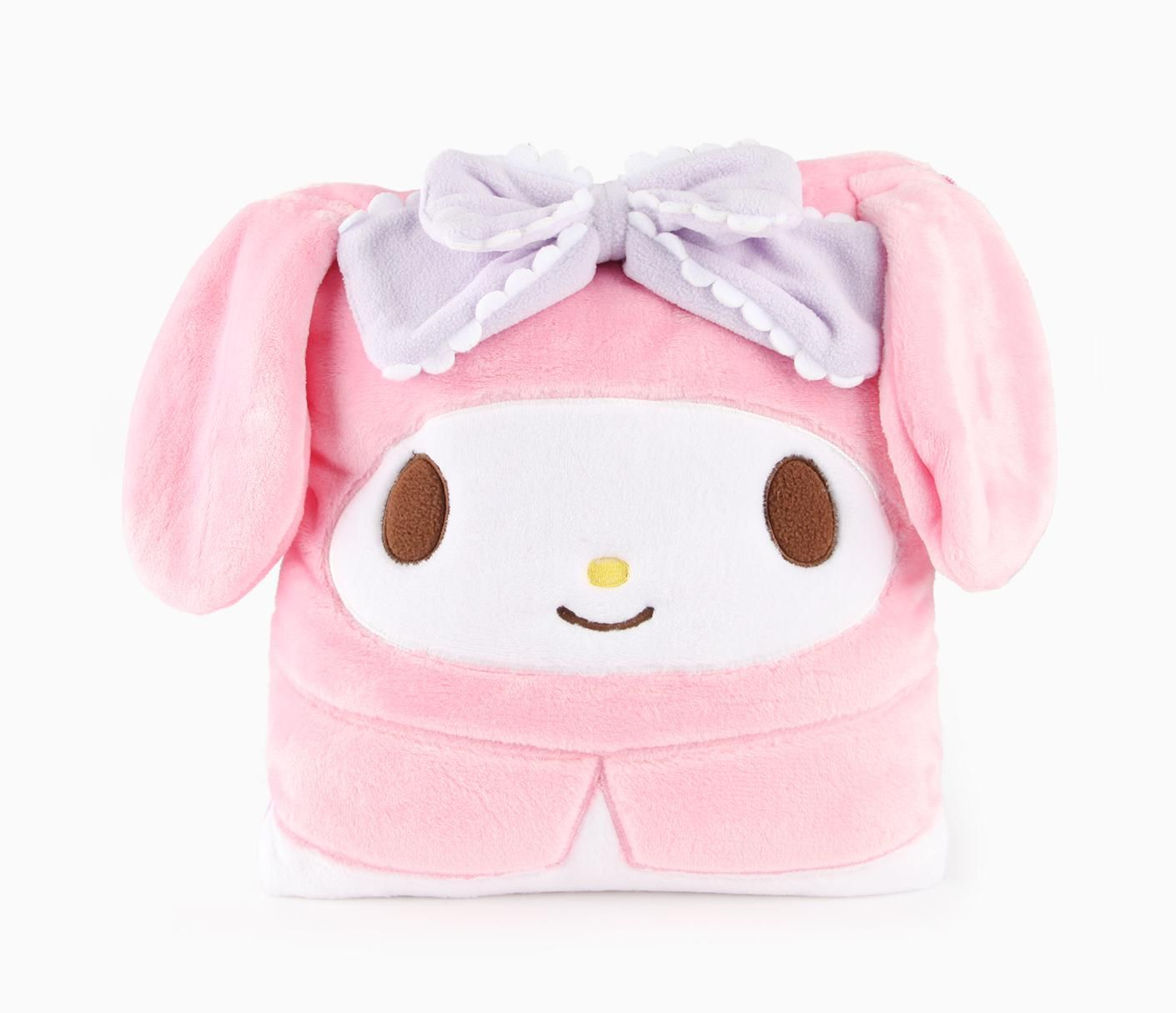 My Melody Foldable Blanket Fancy Bow Fancy Bows My Melody Hello Kitty