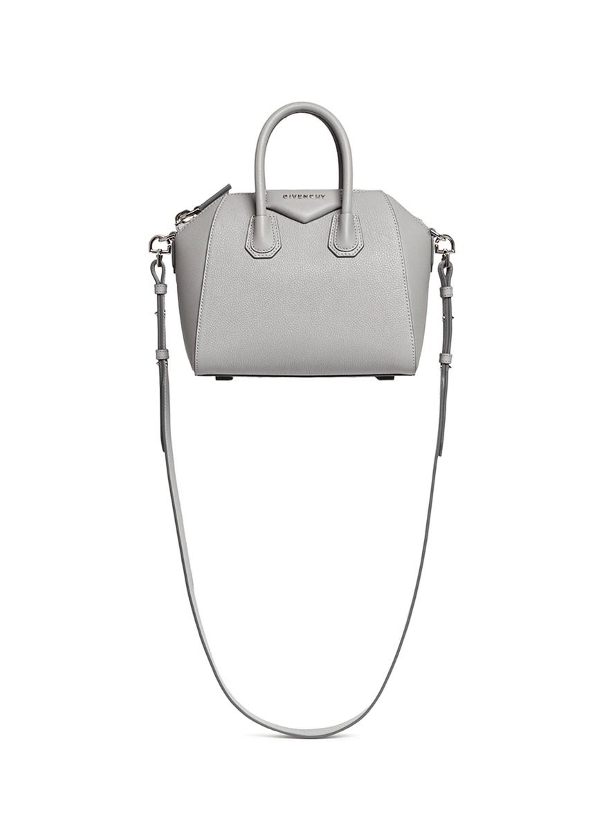 7237911de990 GIVENCHY  Antigona  mini leather bag