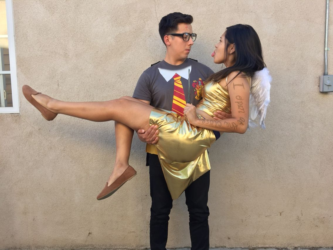 Golden Snitch Costume | Suburban Wife, City Life |Diy Golden Snitch Costume
