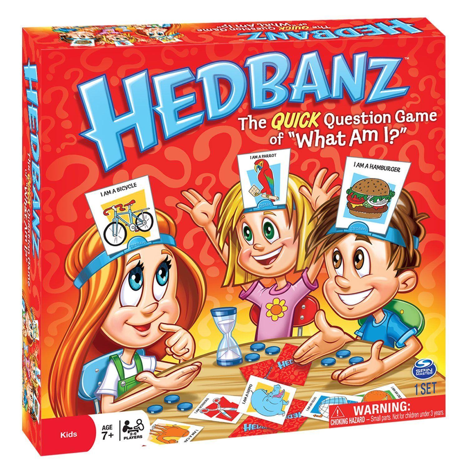 HedBanz Game fun for 7 year old girls Games