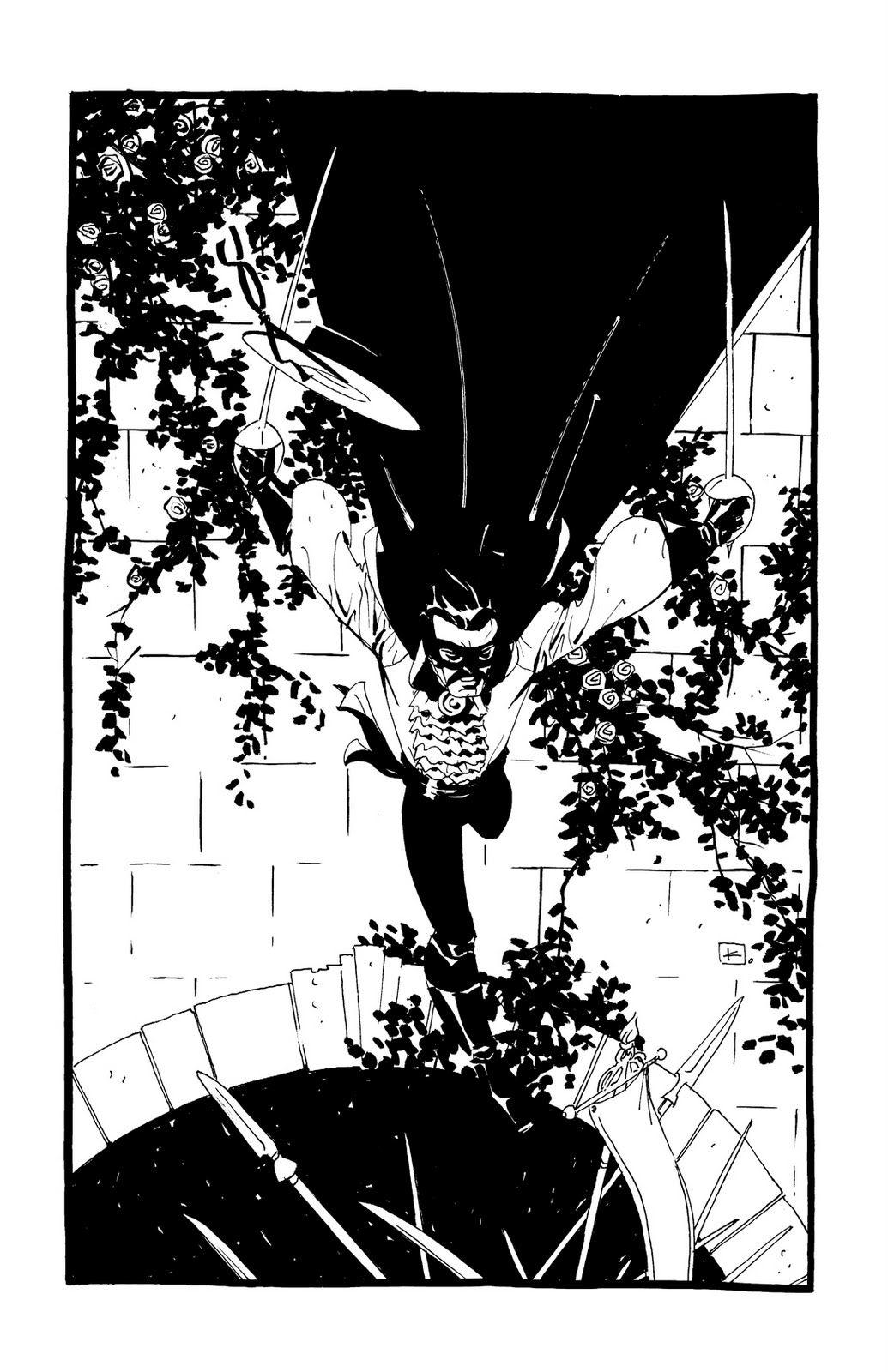 Comic Twart: Zorro