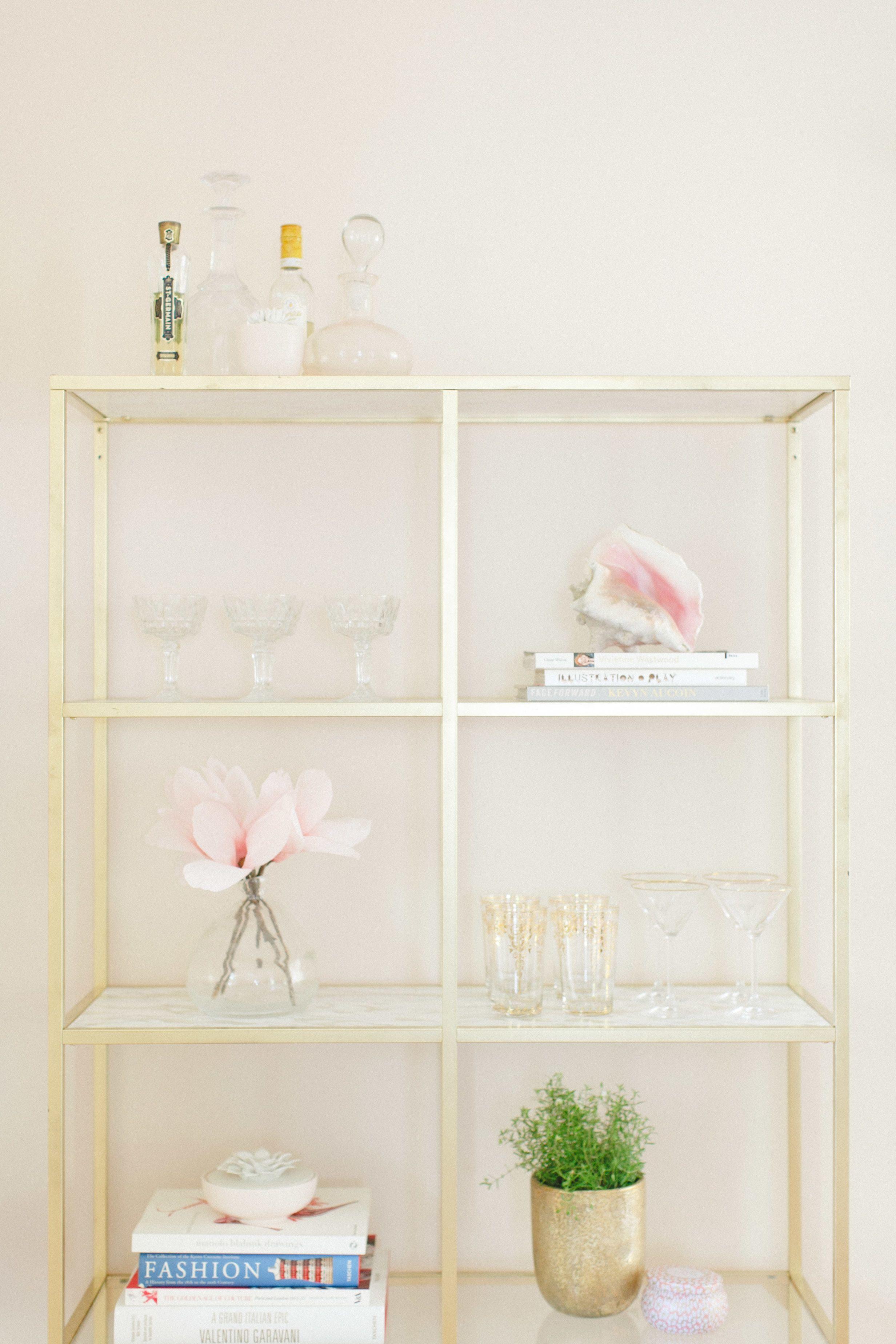 Teavana iced tea bar giveaway ikea hack shelves and marble shelf