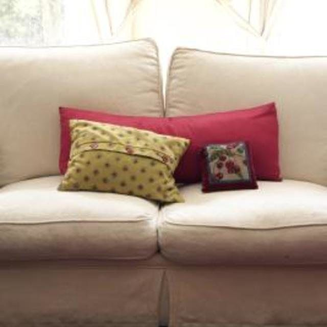 How To Reupholster A Couch Without A Removable Cushion Cushions On Sofa Reupholster Couch Couch Cushions
