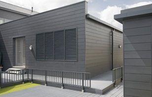 Cedral Click Concrete Roof Tiles Architecture Minimal Home