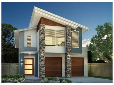 Modern Double Storey House Plans | Modern Home | Pinterest | House