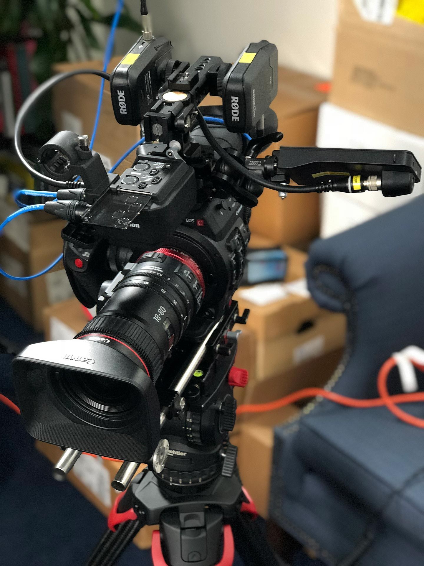 The Canon C300 Mark II Gets a Touchscreen – Learning to See