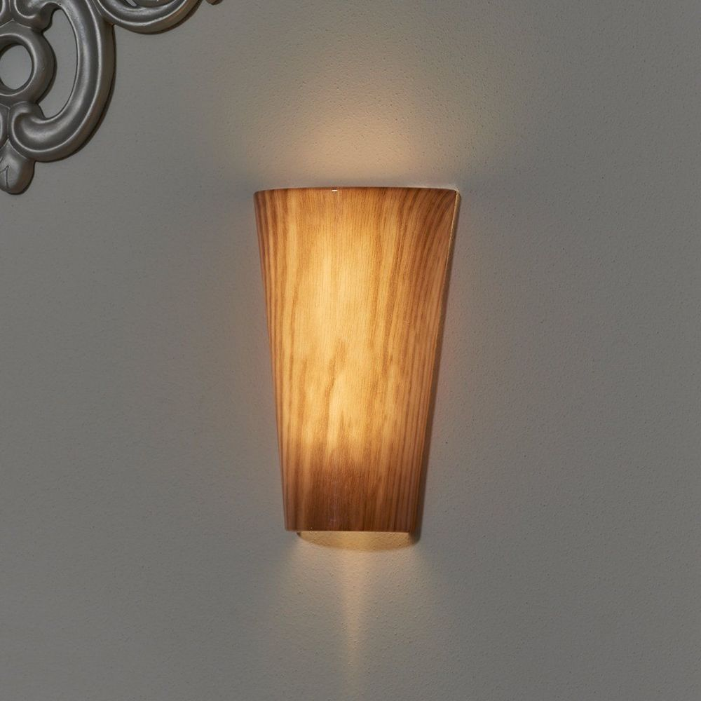 vivid cherry pecan indoor outdoor led high gloss battery operated