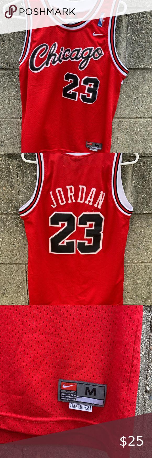 michael jordan jersey youth medium