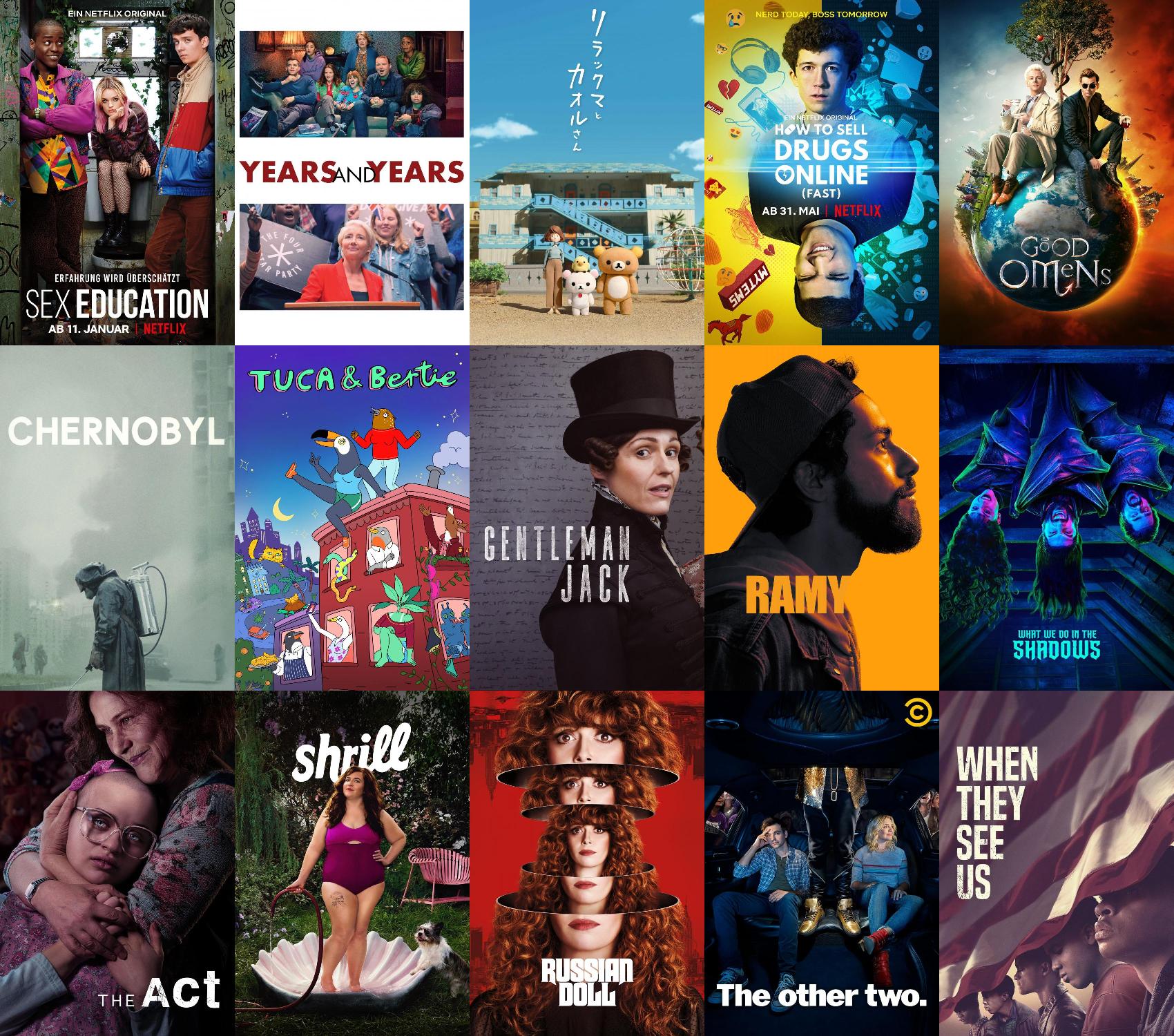 Beliebte Serien 2019