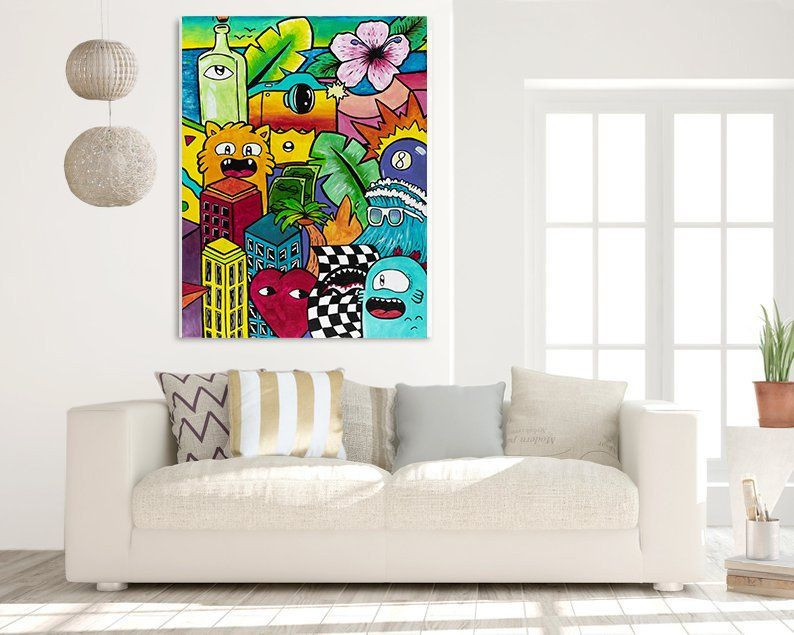 10 Most Popular Pop Art Living Room