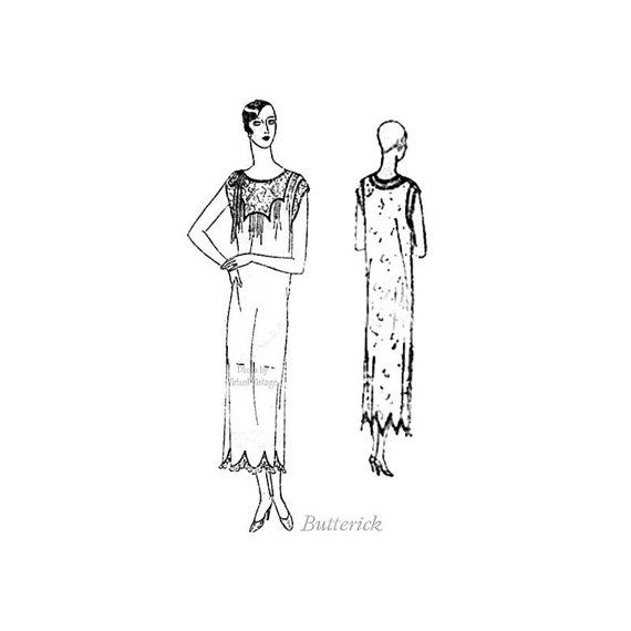 1920s Sewing Pattern Butterick 2101 Womens by VirtualVintage ...