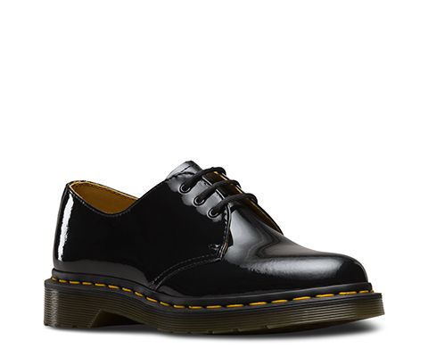 Dr Martens 1461 Patent Leather Shoes Leather Shoes Woman Oxfords Leather Oxfords Women Leather Oxford Shoes