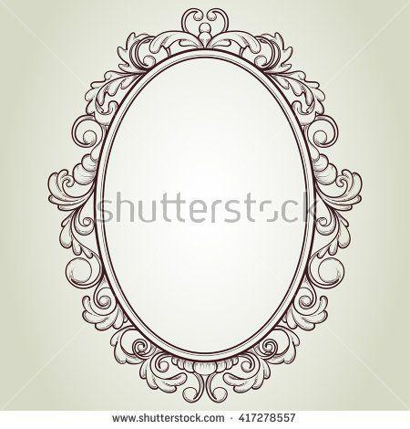 ovaler rahmen tattoo design mirror frame pin von kayleigh peach auf tattoo inspo pinterest spiegel ideen und ideen spiegel